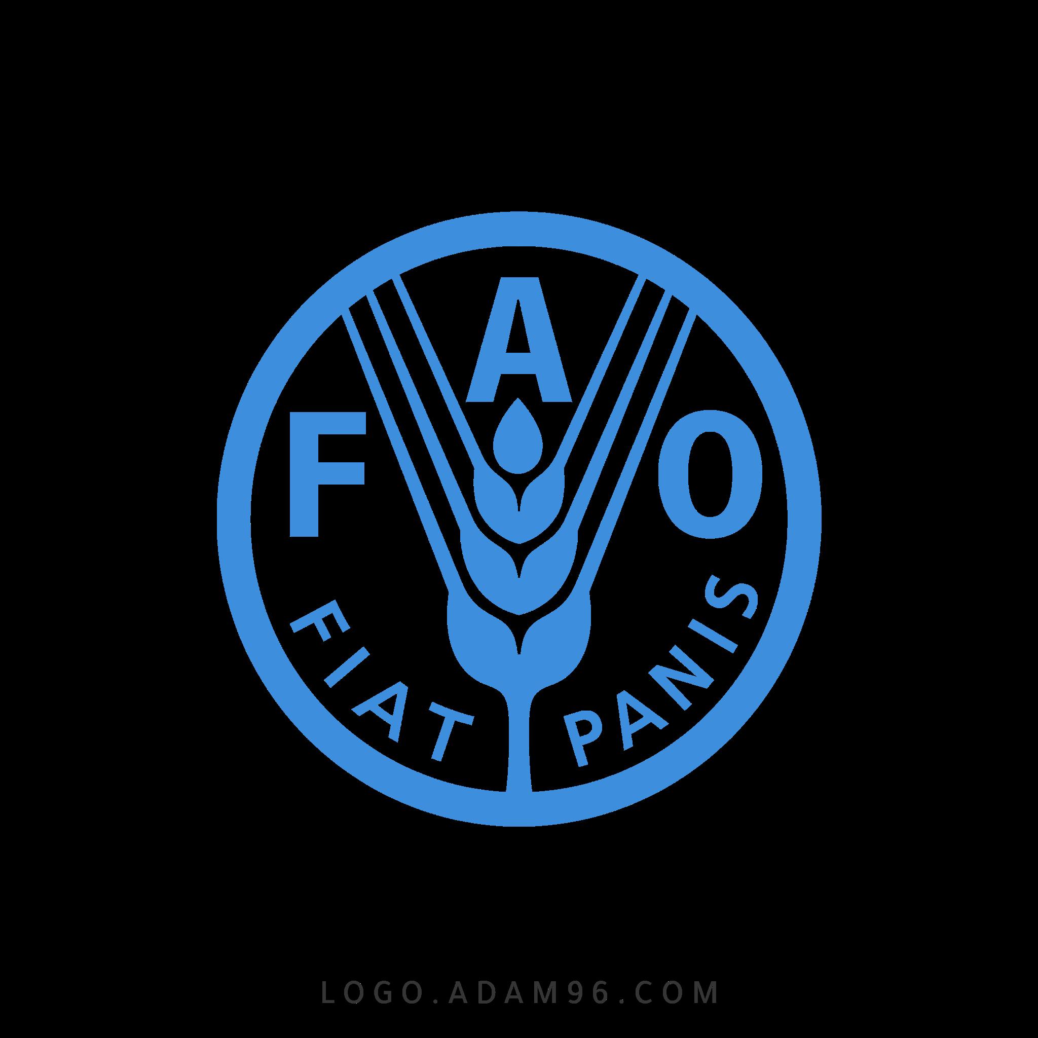 تحميل شعار منظمة الأغذية والزراعة لوجو رسمي عالي الجودة LOGO FAO PNG