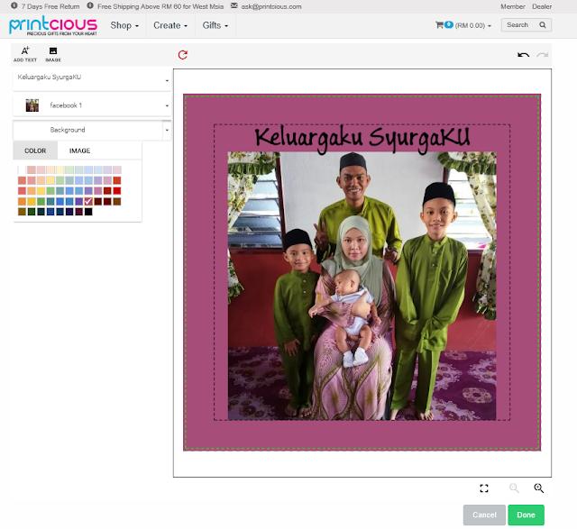 """Printcious.com – Precious Gifts From Your Heart"" DIY Cenderahati Di Printcious.Com"
