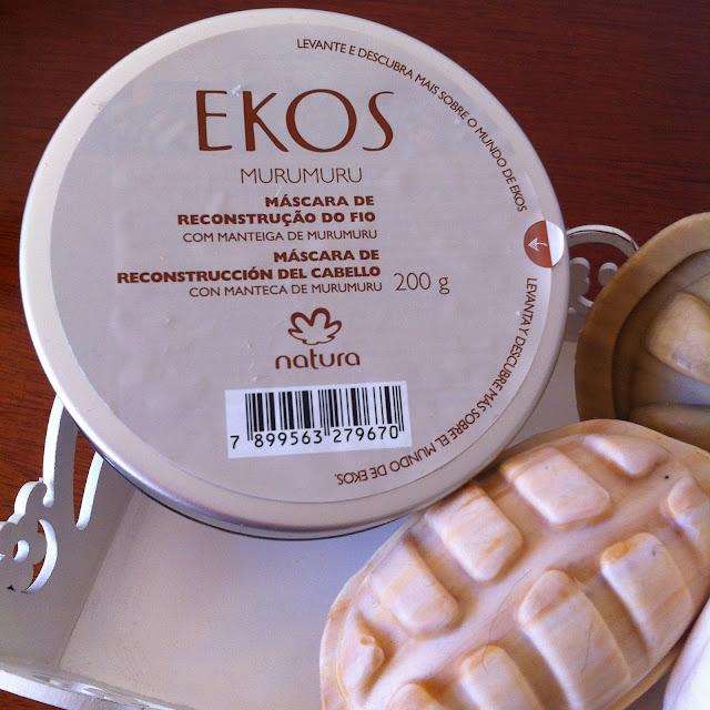 Murumuru Máscara de Reconstrução do fio - Natura Ekos