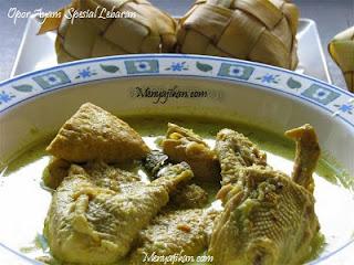 Opor Ayam Spesial Lebaran