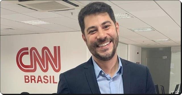 EVARISTO COSTA FAZ CHEGADA OUSADA NA CNN BRASIL E SURPREENDE AO QUEBRAR REGRA