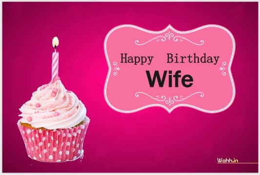 Wife Birthday Status In Hindi  Images