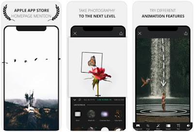 Aplikasi Foto Bergerak iPhone - Vimage