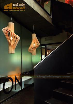 Thế Giới Đèn Gỗ - Những mẫu đèn trang trí quán cafe tuyệt đẹp 6