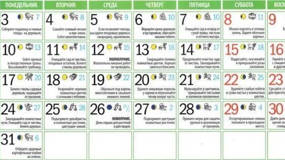 Подробный лунный календарь на май 2021 года