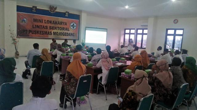 Kodim Karanganyar - Mini Lokakarya Lintas Sektoral UPT Puskesmas Mojogedang, Danramil Ajak Masyarakat Hidup Sehat