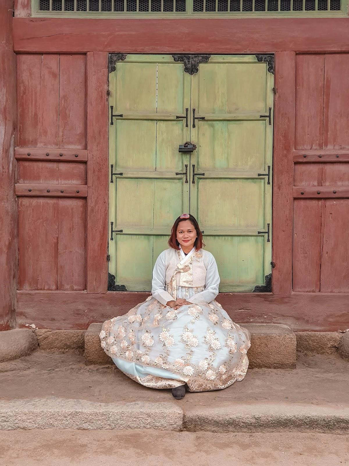 #AutumnInKorea: Hanbok Experience at Gyeongbokgung Palace