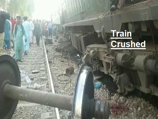 Train Crushed in Hyderabad
