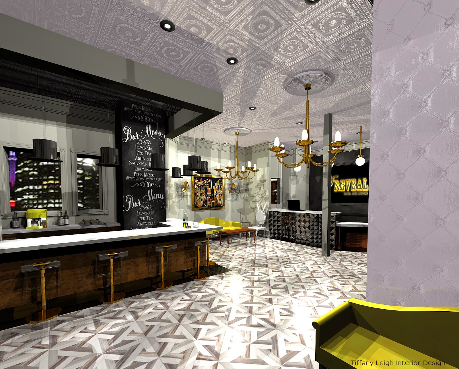 Tiffany leigh interior design hospitality project for Design hotel 3d