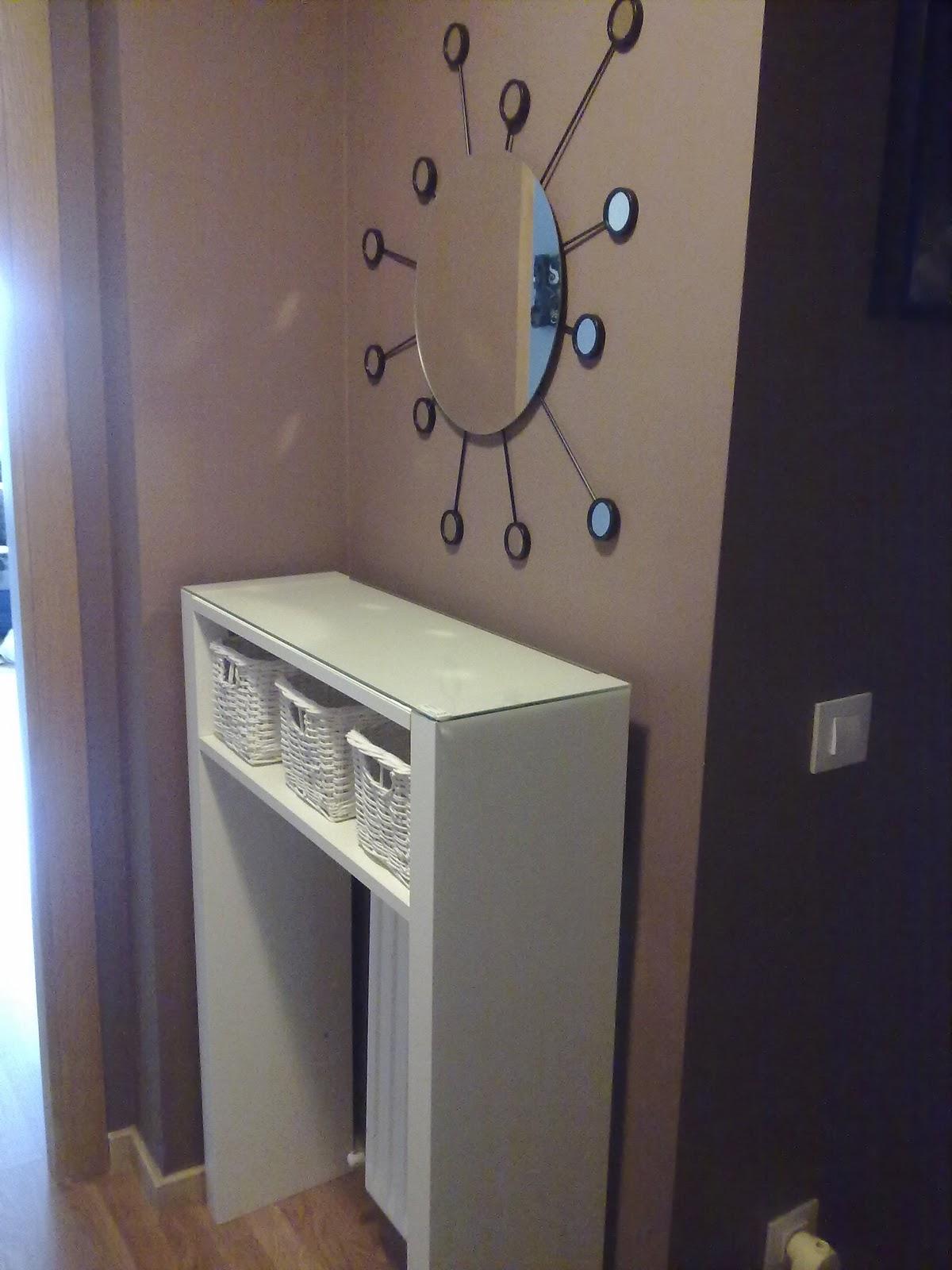 Dormitorio muebles modernos cubreradiador ikea - Como hacer cubreradiadores ...