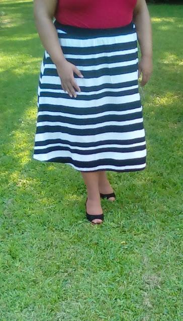 Choosing the right midi skirt