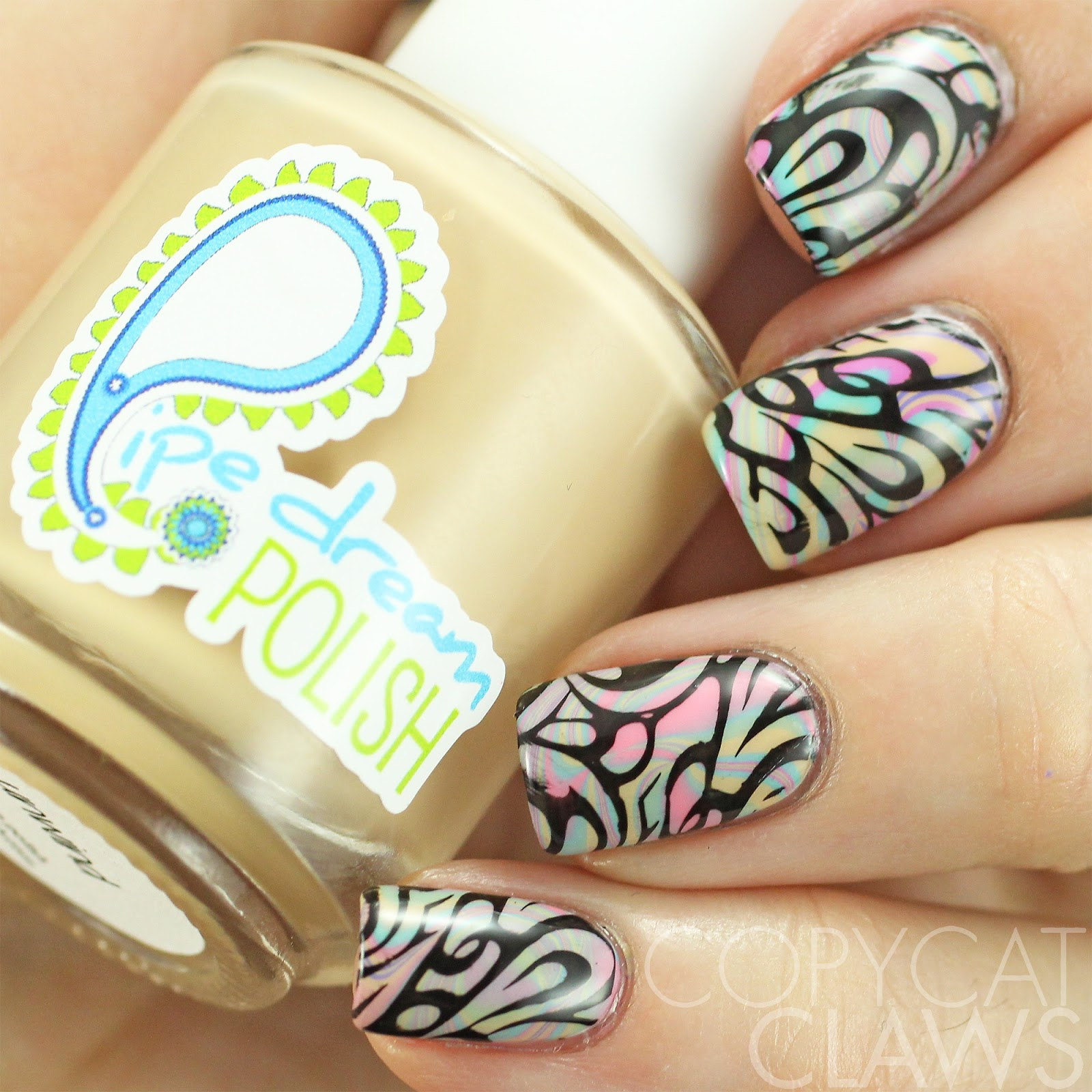 Copycat Claws: 40 Great Nail Art Ideas - Nude + Color
