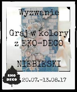 EKO-DECO Niebieski