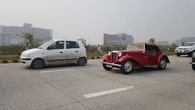 21 Gun Salute Vintage Car Rally from Red Fort to Buddh International Circuit, Greater Noida