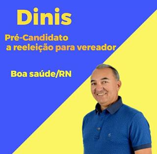 Dinis Rodrigues anuncia pré-candidatura