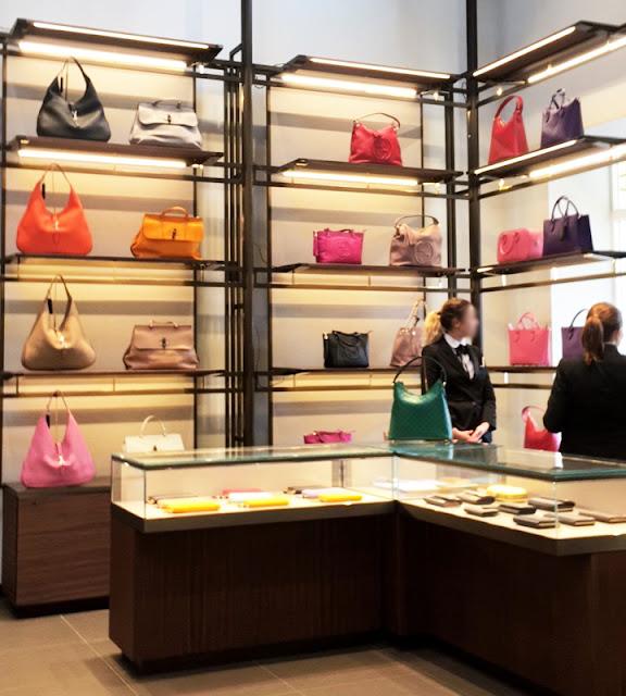 Gucci Outlet Store Bicester Village Handbag Selection
