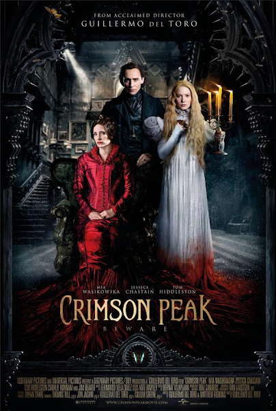 Poster of Crimson Peak 2015 720p Hindi BRRip Dual Audio Full Movie Download