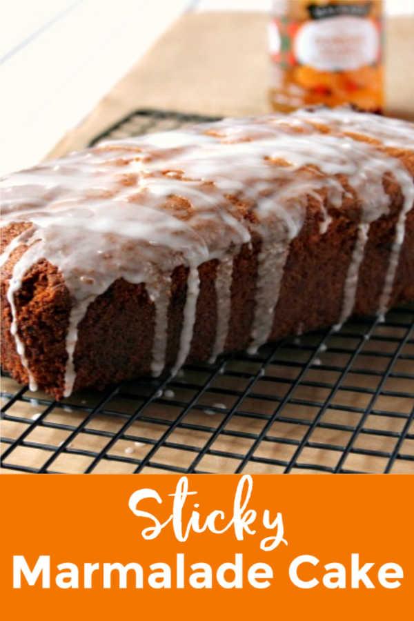 Sticky Marmalade Cake