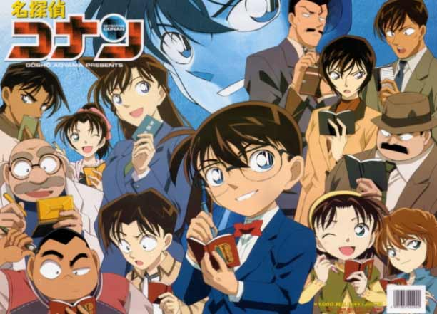 Anime Mystery Terbaik - Detective Conan