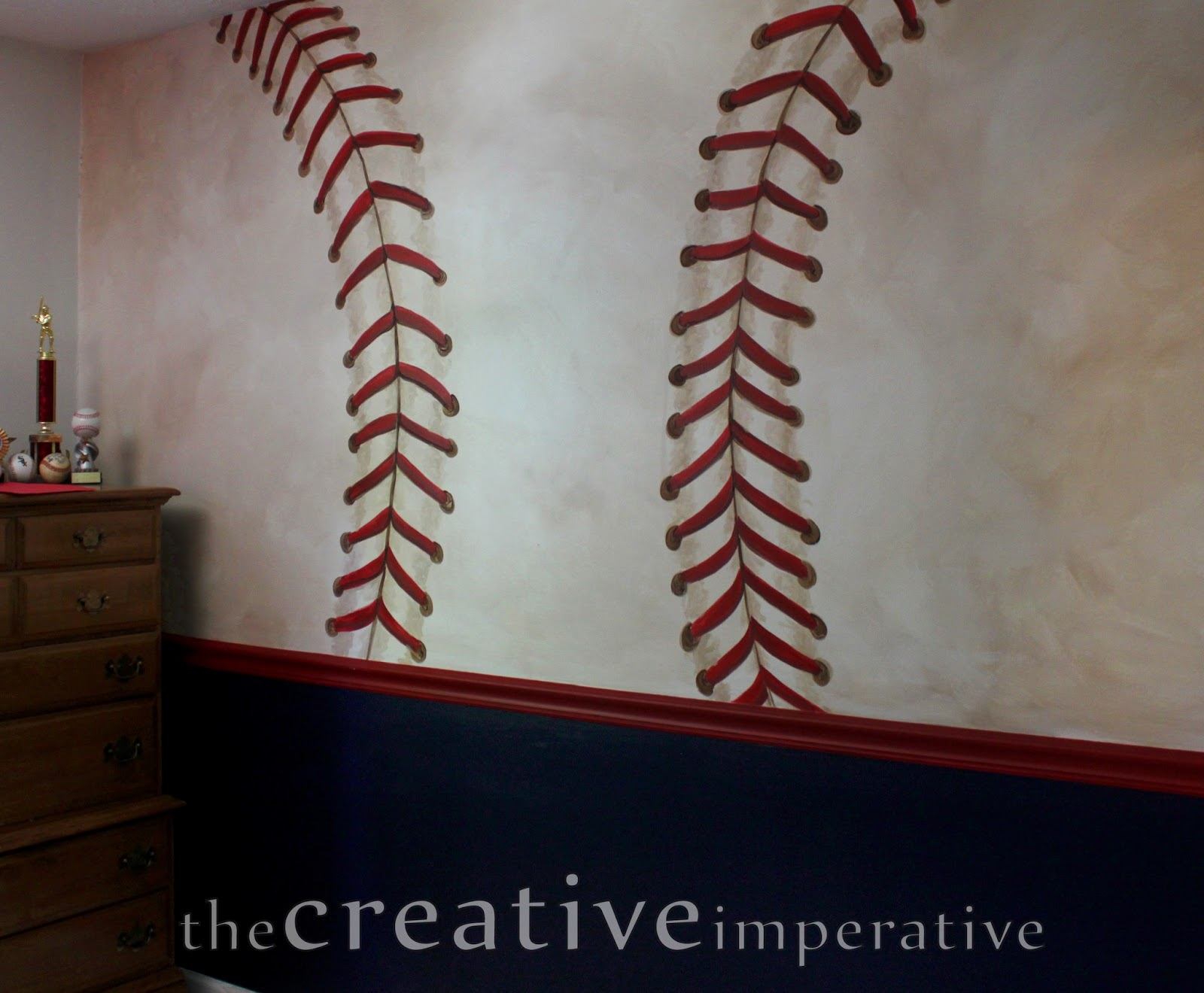 Some Yankees And Nationals Baseball Murals