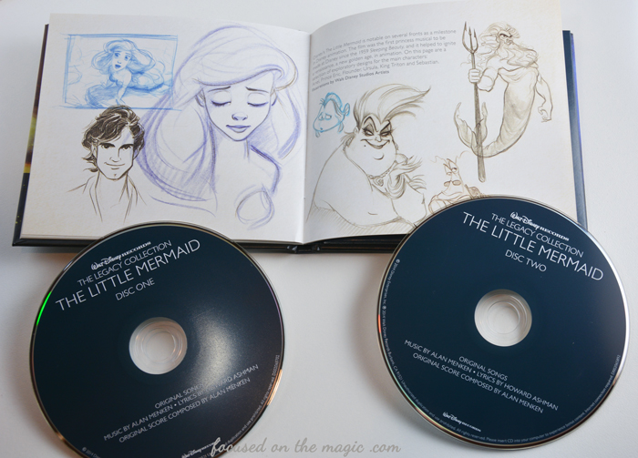 The Little Mermaid Legacy Collection CD Set Review Giveaway  | Focused on the Magic
