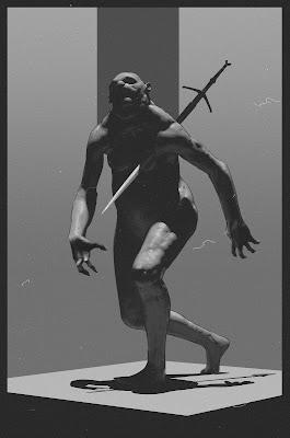 """La ghoul (""""Bring me back my sword, b*tch!"""" by Sergey Osmic)"""