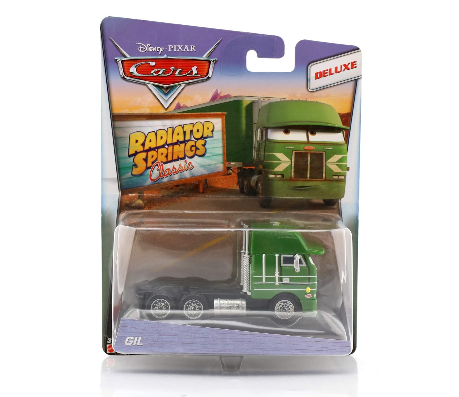 mattel cars gil diecast review