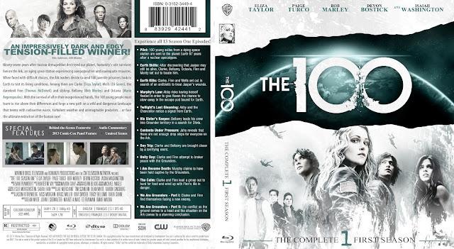 Capa Bluray The 100 Primeira Temporada Completa