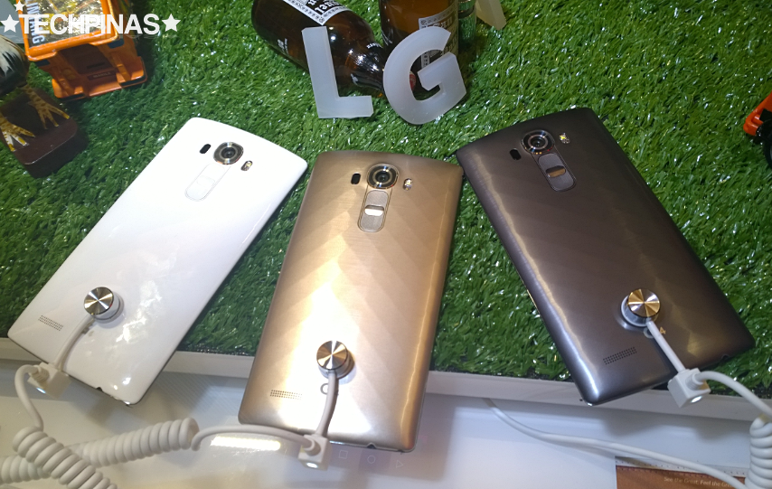 LG G4 Plastic Back Covers