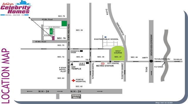 Location-Map-Aditya-celebrity-Homes