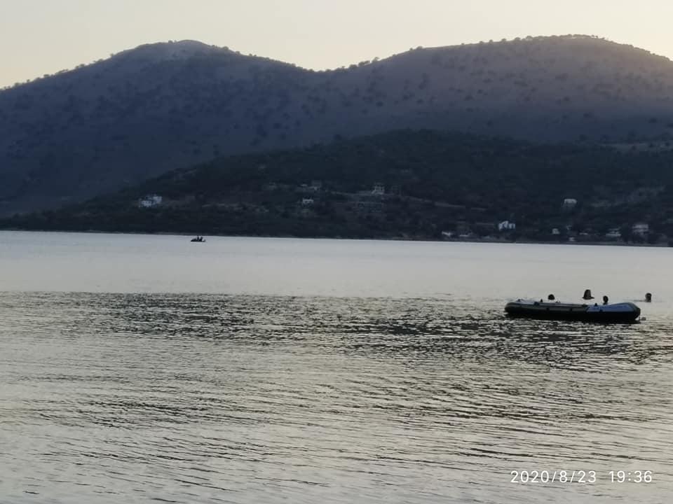 Άγιος Δημήτριος Εύβοιας: Διάσωση (facebook)