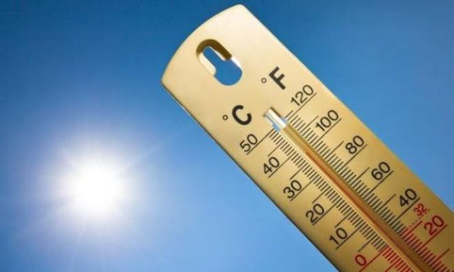 Στους 39 βαθμούς έφτασε η θερμοκρασία σήμερα 8/7 - Μικρή πτώση την Παρασκευή