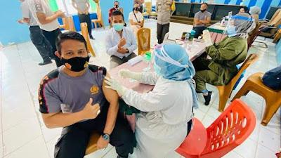 Puskesmas Sijunjung Gelar Vaksinasi Covid -19 Tahap Dua