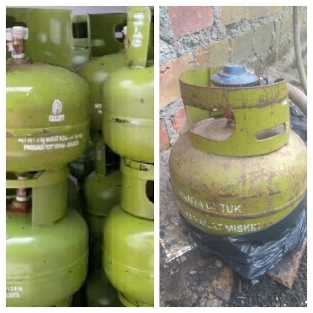 Menjelang Lebaran Harga Gas Elpiji 3 kg Mencapai Rp 30000 di Kabupaten Bengkalis
