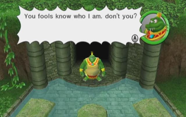 Mario Super Sluggers King K. Rool Challenge Mode story appearance diaper pharaoh