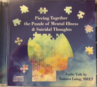 New audio CD on Mental Illness and Suicidal Thoughts