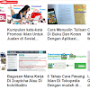 Cara Memasang Powered by Google Atau Matched Content Dalam Blog