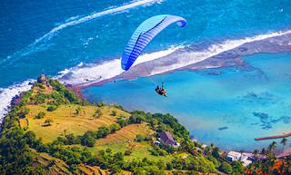 Paragliding di Timbis