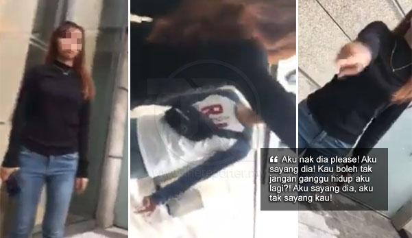 (Video) 'Aku tak sayang kau, aku sayang dia!' - Gadis kantoi curang mengelabah bila disoal 2 teman lelakinya