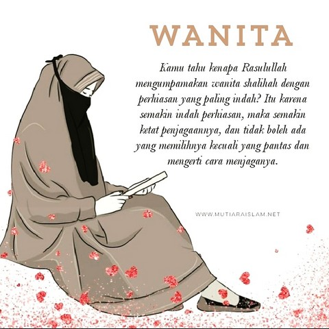 Gambar Kehidupan Kata Kata Mutiara Wanita Muslimah Bergambar Kartun