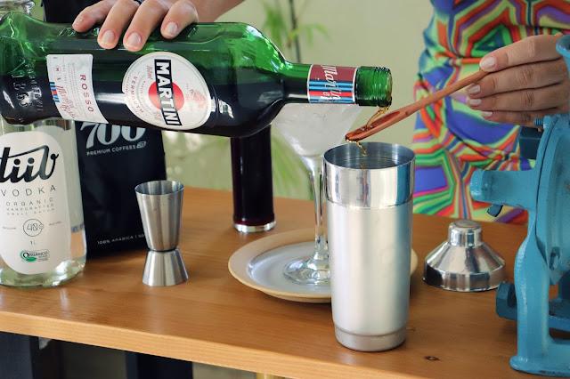 Cold Brew Martini, um drink envolvente e perfumado