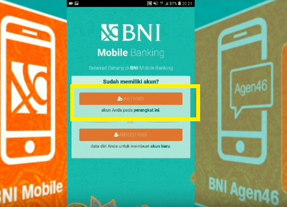 Cara Aktivasi BNI Mobile Banking Via Hp Android