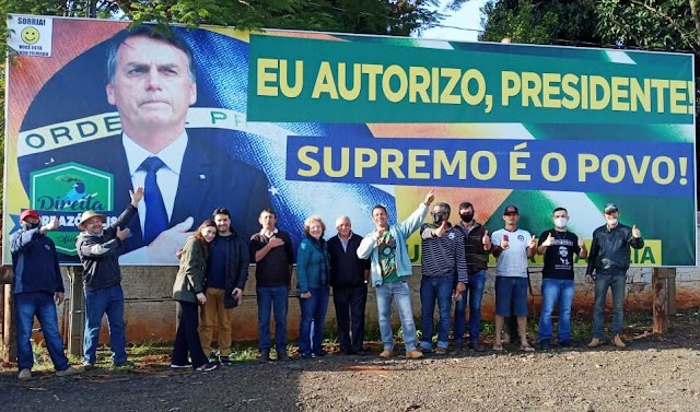Direita Borrazópolis fará manifesto pelo voto impresso