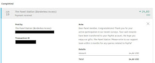The Panel Station Payment Proof