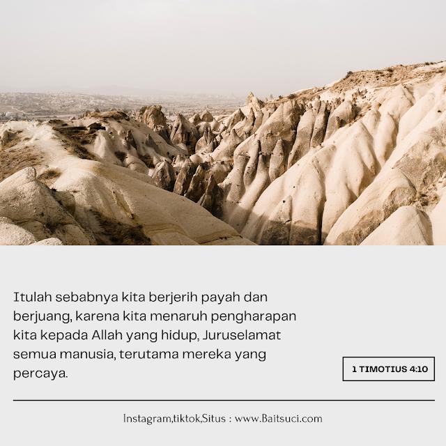Ayat Ayat Alkitab Tentang Masa Depan Penuh Harapan