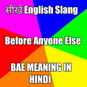 BAE Meaning in Hindi,BAE full form,meaning of BAE in hindi