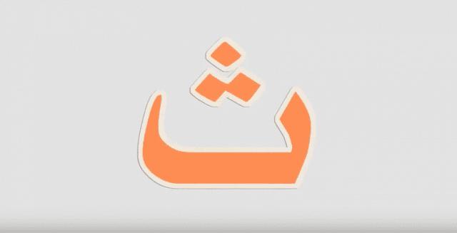 تفسير ابن شاهين لحرف الثاء