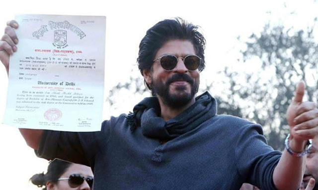 King Khan Collects His Graduation Degree After 28 Years