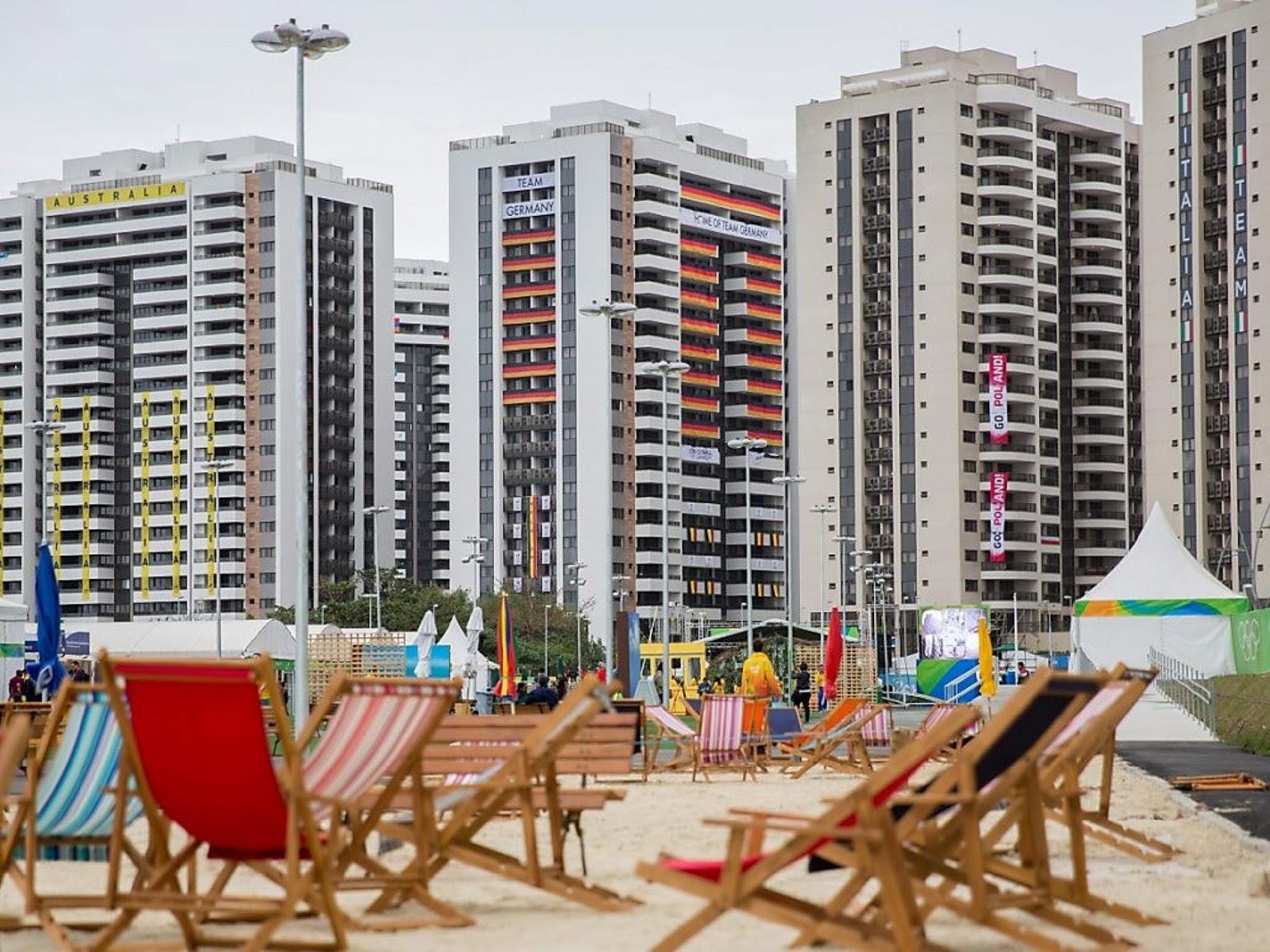 OLYMPIC VILLAGE, RIO OLYMPICS 2016 C