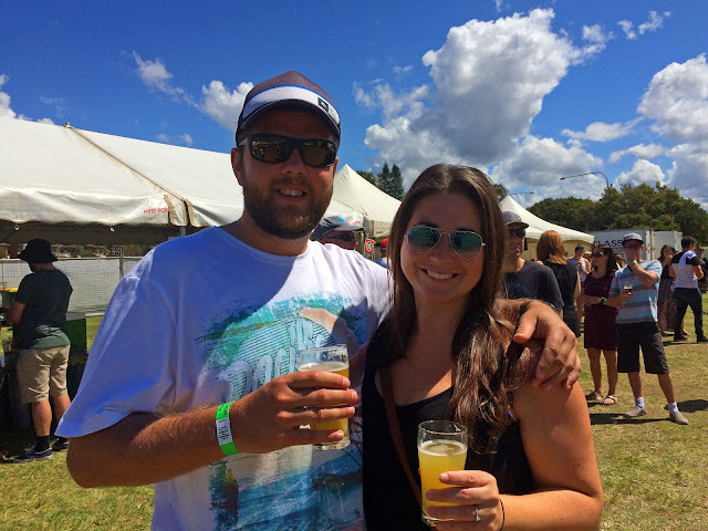 Port Macquarie Beer and Cider Festival Couple